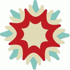 Silhouette Design Store - View Design #39019: star flower