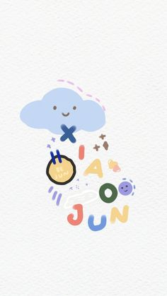 Name Wallpaper, Mood Wallpaper, Kawaii Wallpaper, Pastel Wallpaper, Wallpaper Iphone Cute, Silk Wallpaper, Jaehyun Nct, Cute Cartoon Wallpapers, Cute Stickers