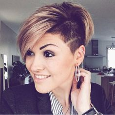 """8,455 Likes, 85 Comments - PixieCut 💇 ShortHair 🎉 Blogger (@nothingbutpixies) on Instagram: """"Give me one word to describe @domdomhair cut on former long haired model @adrianna.christina"""""""