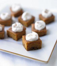 'Biggest Loser Dessert Cookbook'  Pumpkin Pie Bites