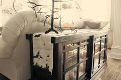 DIY Halloween : DIY Halloween Spooky Burlap Table Runner