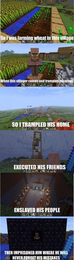 I taught that Villager // funny pictures - funny photos - funny images - funny pics - funny quotes - #lol #humor #funnypictures