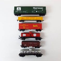 toy train cars