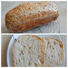 Egyszerű kovászos kenyér – Alaprecept | Betty hobbi konyhája Bread, Desserts, Pizza, Food, Tailgate Desserts, Deserts, Brot, Essen, Postres