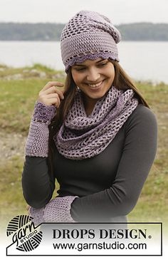 September Morning Hat by DROPS Design. Free pattern!