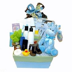 Baby and Mom Welcome Gift Basket