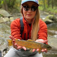 Repost By: @flyfishingguideitaly Even the fish are trying on the autumn colours #flyfishing #fishexploreconserve #fishitwell #sightfishing #catchandrelease #flyfishingnation #explore #wildplaces #dirtroads #offthegrid #flytying #mountains #rushingrivers #twigwater #findyourwater #shopmcfly #womenwhoflyfish #5050onthewater #theflylife #onthefly #flyfishingadventures #fallfishing #dunmagazine #mend #girlsfishingcrew #nymph #browntrout #troutofinsta #intothegreatwideopen #mcfly #behappy Fly Fishing Net, Fishing World, Gone Fishing, Great Wide Open, Pretty Fish, Brown Trout, Autumn Colours, G Adventures, Nymph