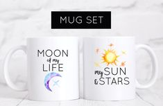 Image result for sun and stars moon of my life mugs