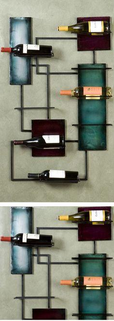 Hanging Wine Rack //