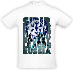Футболка с принтом The Novosibirsk Sibir is my club