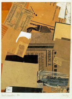 Kurt Schwitters, Oorlog, 1930.