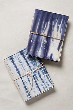 DIY: Shibori books