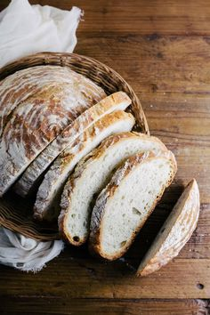 A recipe for a simple boule, with awesome advice for beginner bread makers.