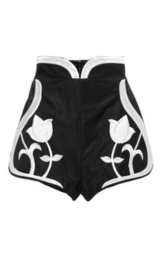 black and white shorts / Alice McCall via Moda Operandi