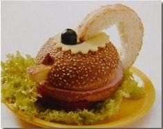 Funny sandwiches «Tea»