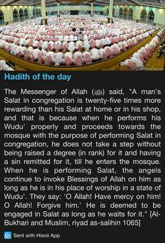 Hadith of the day Islam Beliefs, Islam Hadith, Islamic Teachings, Islam Religion, Islam Muslim, Islam Quran, Prophet Muhammad Quotes, Hadith Quotes, Muslim Quotes