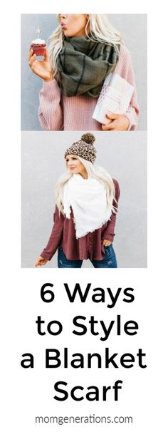 How to Wear a Blanke