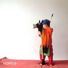 tepetua: Yakari-Kostüm l am Kind
