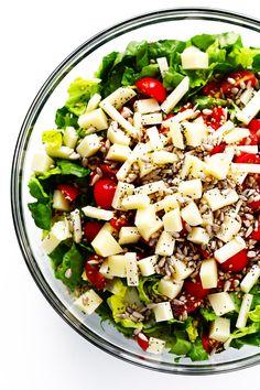 Unforgettable Italian Chopped Salad Ingredients