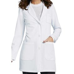 Greys Anatomy Signature Womens 32 Inch Lab Coats Main Image