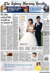 The Sydney Morning Herald 3-12-2012 Australia