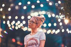 Photo by: Brandon Woelfel Bokeh Photography, Tumblr Photography, Night Photography, Portrait Photography, Fashion Photography, Brandon Woelfel, Night Portrait, Shooting Photo, Favim