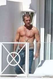 Image result for mel gibson no shirt