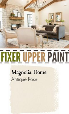 Fixer Upper Paint Antique Rose