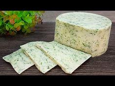 Rețetă delicioasă și sănătoasă de brânză de casă, doar câteva ingrediente - fără cheag # 078 - YouTube Feta, Cheese Recipes, Cooking Recipes, Cooking Cheese, Homemade Cheese, How To Make Cheese, Few Ingredients, Almond Butter, Soul Food