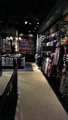 Eton shirts showroom London