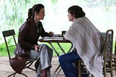 Lana Winters (Sarah Paulson) y Kit Walker (Evan Peters), American Horror Story