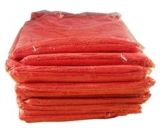 "Super Soft and strong 14"" x 14"" Towel. Great for cleaning home & office, cars & trucks, RVs & Boats and Much More! Lot of 25"
