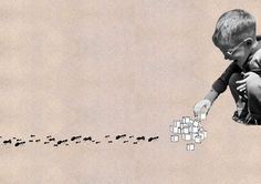 http://lespapierscolles.wordpress.com/2013/03/04/toshiaki-uchida/ #collage #art #drawing
