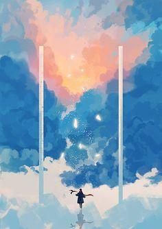 New cats illustration wallpaper ideas Art And Illustration, Illustrations, Kunst Inspo, Art Inspo, Fantasy Kunst, Fantasy Art, Anime Kunst, Anime Art, Anime Scenery Wallpaper
