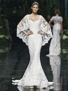Pronovias / Another ............ Winter Wedding possibility