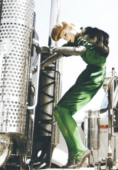 "Magdalena Frackowiak/Vogue Italia August 2007 ""Serviced"" photographed by Steven Meisel 3fashion #editorials"