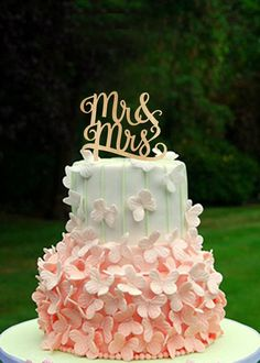 etsy cake topper mr & mrs