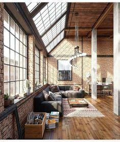 Decoração no Estilo Industrial http://blogdadaiane.com