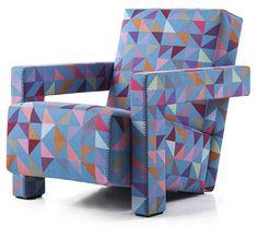 Utrecht Chair C90 Edition  by Gerrit Rietveld and Bertjan Pot