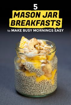Mason Jar Breakfasts Are the Best   Extra Crispy