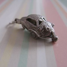 Bubble Car Opening Charm / Pendant Vintage by DottieDollie on Etsy