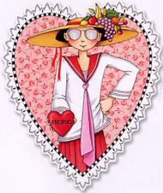 "Mary Engelbreit  ""YOU HAVE MY HEART, VALENTINE!"""
