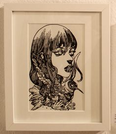 katsuya terada illustration for Terra's Black Marker at the Compound Gallery in Portland Oregon