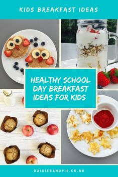 School day breakfast doesn't have to be boring or difficult. We've got a week of delicious, fun breakfast ideas for kids that they'll just LOVE! #breakfastrecipes