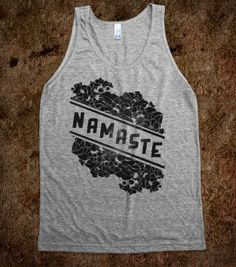Cosmic Namaste - Yoga - Skreened T-shirts, Organic Shirts, Hoodies, Kids Tees, Baby One-Pieces and Tote Bags