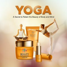 Yoga - A secret to retain the beauty of body and mind! This International Yoga Day, let's take an oath to practice yoga regularly for life long. This will make you look more beautiful! International Yoga Day, Practice Yoga, Day Wishes, Salons, Spirituality, Mindfulness, How To Make, Life, Beauty