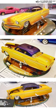 Lowrider Model Cars, Hobby Cars, Custom Hot Wheels, Plastic Model Cars, Old Classic Cars, Model Kits, Chevy Trucks, Custom Paint, Scale Models