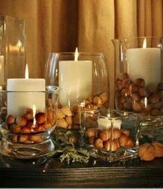 Thanksgiving Acorn Candles thanksgiving thanksgiving crafts thanksgiving decor thanksgiving ideas thanksgiving decorations thanksgiving craf...