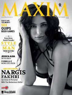Nargis Fakhri Hot Maxim India Photoshoot for September 2014