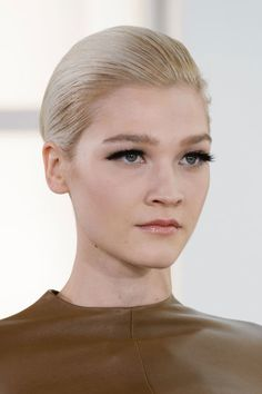 The Best Haute Couture Beauty Looks From Spring 2015 - Stéphane Rolland - Elle